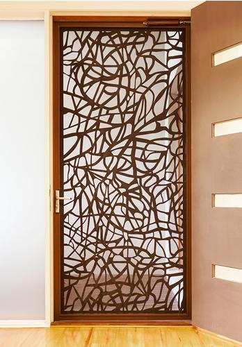 Celosias met licas celosias metalicas for Puertas decorativas para interiores